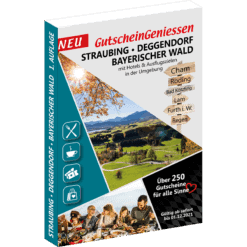 Gutscheinbuch Straubing – Deggendorf – Cham – Bayerischer Wald 2020/2021