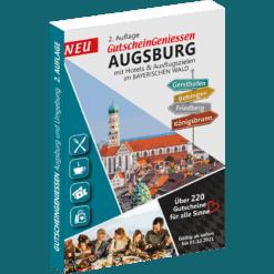 Gutscheinbuch für Augsburg 2020/2021