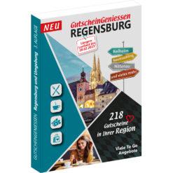 Gutscheinbuch Regensburg 2022 GutscheinGeniessen